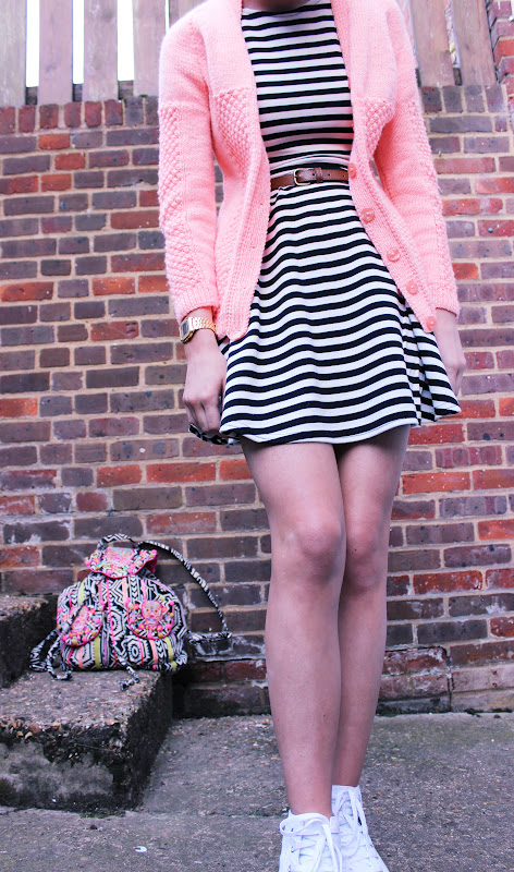 Credit: http://www.lulutrixabelle.com/2012/03/striped-skater-dress.html