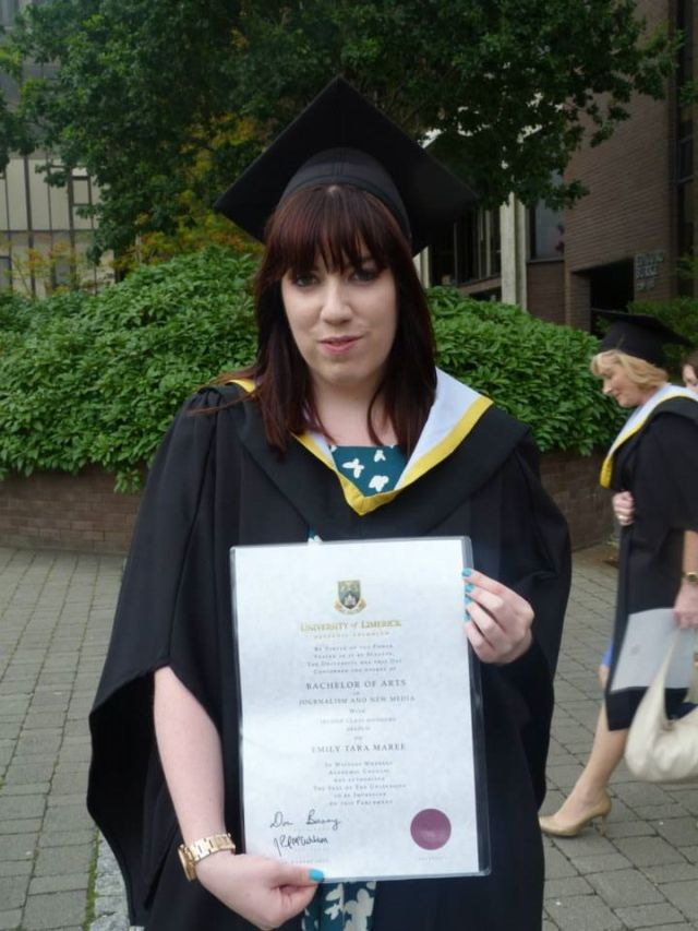 I've graduated!! yaaay!